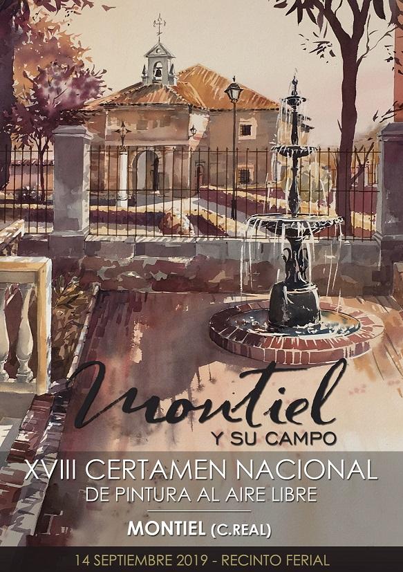 XVIII CERTAMEN NACIONAL PINTURA - MONTIEL 2019